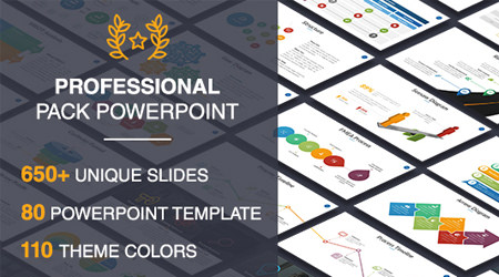 graficos envato elements powerpoint template professional pack