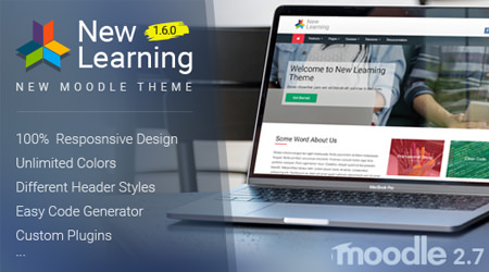 plantillas cms envato new learning