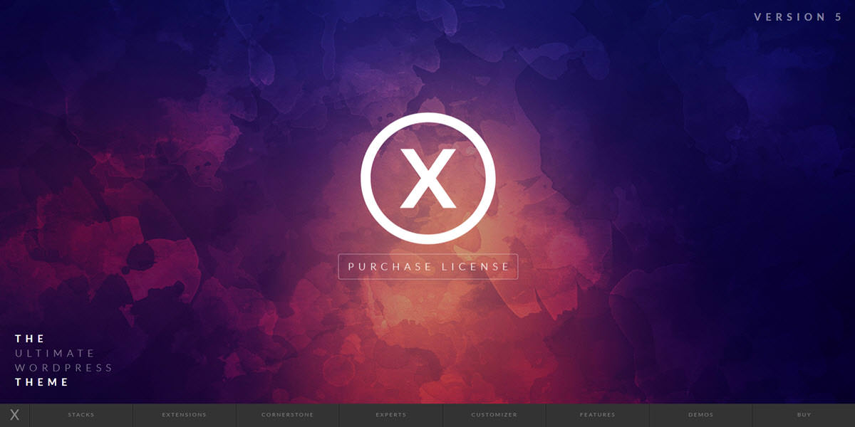 mejor plantilla wordpress themeforest x theme themeco