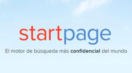buscadores de internet alternativos startpage